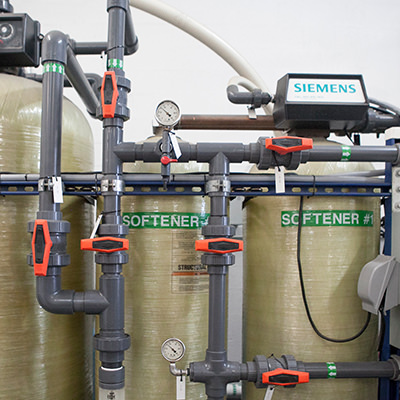 State of the art Siemens water purification.